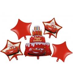 ΜΠΑΛΟΝΙ FOIL SET «Happy Birthday» CARS DISNEY – ΚΩΔ.:207178-BB