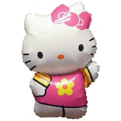 ΜΠΑΛΟΝΙ FOIL 41x63cm SUPER SHAPE HELLO KITTY SUMMER STREET – ΚΩΔ.:27476-BB