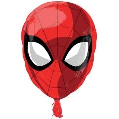 ΜΠΑΛΟΝΙ FOIL 45x63cm SUPER SHAPE SPIDERMAN ΚΕΦΑΛΙ - ΚΩΔ.:35837-BB