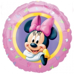ΜΠΑΛΟΝΙ FOIL 45cm MINNIE MOUSE «Happy Birthday» – ΚΩΔ.:510959-BB