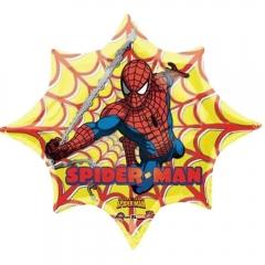 ΜΠΑΛΟΝΙ FOIL 98x84cm SUPER SHAPE SPIDERMAN ΙΣΤΟΣ - ΚΩΔ.:518187-BB