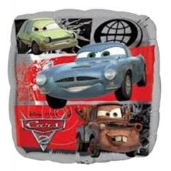 ΜΠΑΛΟΝΙ FOIL 45cm CARS DISNEY ΤΕΤΡΑΓΩΝΟ – KOD.:522311-BB
