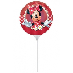 ΜΠΑΛΟΝΙ FOIL 23cm MINI SHAPE MINNIE MOUSE – ΚΩΔ.:524820-BB
