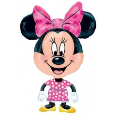 FOIL 55x98cm MINNIE MOUSE AIRWALKER – ΚΩΔ.:526370-BB