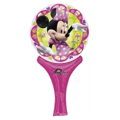 ΜΠΑΛΟΝΙ FOIL 30cm MINI SHAPE MINNIE MOUSE DISNEY INFLATE-A-FUN – ΚΩΔ.:527029-BB