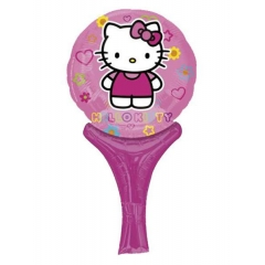 ΜΠΑΛΟΝΙ FOIL 30cm MINI SHAPE HELLO KITTY INFLATE-A-FUN – ΚΩΔ.:527073-BB