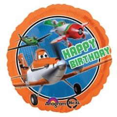 ΜΠΑΛΟΝΙ FOIL 45cm ΑΕΡΟΠΛΑΝΑ DISNEY «Happy Birthday»– KOD.:527414-BB