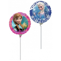 ΜΠΑΛΟΝΙ FOIL 23cm MINI SHAPE FROZEN ELSA & ANNA – KOD.:528161-BB