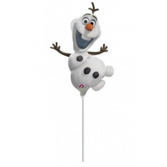 ΜΠΑΛΟΝΙ FOIL 23cm MINI SHAPE FROZEN OLAF  – KOD.:530957-BB