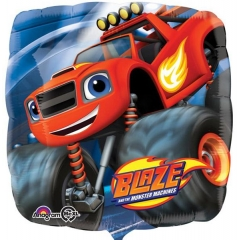 ΜΠΑΛΟΝΙ FOIL 45cm BLAZE AND THE MONSTER MACHINES SQUARE -ΚΩΔ.:532280-BB