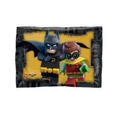 ΜΠΑΛΟΝΙ FOIL 40x30cm JUNIOR SHAPE LEGO BATMAN -ΚΩΔ.:535876-BB