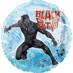 ΜΠΑΛΟΝΙ FOIL 45cm BLACK PANTHER AVENGERS -ΚΩΔ.:538950-BB
