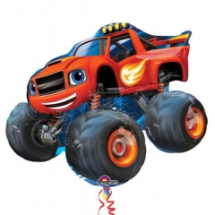ΜΠΑΛΟΝΙ FOIL 86x71cm SUPER SHAPE BLAZE AND THE MONSTER MACHINES -ΚΩΔ.:532393-BB
