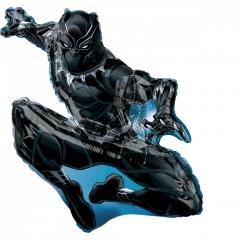 ΜΠΑΛΟΝΙ FOIL 81x81cm SUPER SHAPE BLACK PANTHER AVENGERS -ΚΩΔ.:538953-BB
