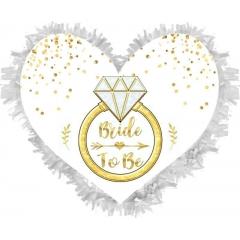 ΧΕΙΡΟΠΟΙΗΤΗ ΠΙΝΙΑΤΑ  «Bride to Be» – ΚΩΔ.:553153b-BB