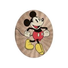 ΞΥΛΙΝΟ ΔΙΑΚΟΣΜΗΤΙΚΟ MICKEY MOUSE VINTAGE ΓΙΑ ΠΑΣΧΑΛΙΝΗ ΛΑΜΠΑΔΑ - ΚΩΔ:D16001-18-BB