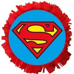 ΧΕΙΡΟΠΟΙΗΤΗ ΜΕΓΑΛΗ ΠΙΝΙΑΤΑ SUPERMAN 40X40CM - ΚΩΔ:553153-106-BB