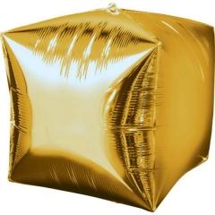 ΜΠΑΛΟΝΙ FOIL ΧΡΥΣΟΣ ΚΥΒΟΣ 45cm – ΚΩΔ.:528336-BB