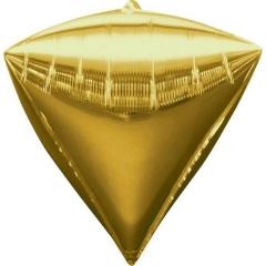 ΜΠΑΛΟΝΙ FOIL ΧΡΥΣΟ ΔΙΑΜΑΝΤΙ 45cm – ΚΩΔ.:528340-BB