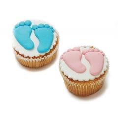 Cupcakes για βάπτιση