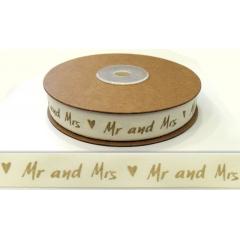 ΚΟΡΔΕΛΑ ΒΑΜΒΑΚΕΡΗ MR&MRS 1.5cm x 18.28μ - ΚΩΔ: 501233