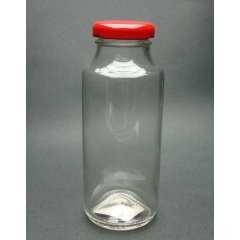 ΜΠΟΥΚΑΛΑΚΙΑ ΧΥΜΟΥ ΓΥΑΛΙΝΑ ΜΕ ΚΟΚΚΙΝΟ ΚΑΠΑΚΙ 250 ml - ΚΩΔ: 2110280250-RED