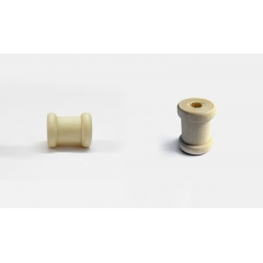 ΞΥΛΙΝΟ ΚΑΡΟΥΛΙ ΜΙΝΙ 1,4x1,3cm - ΚΩΔ:519302