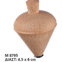 ΞΥΛΙΝΗ ΣΒΟΥΡΑ 4,5X6 ΕΚΑΤ - ΚΩΔ:M8795-AD