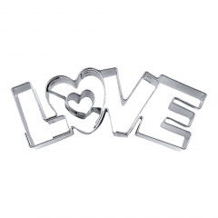 ΜΕΤΑΛΛΙΚΟ ΚΟΥΠΑΤ LOVE 7.5ΕΚΑΤ. - ΚΩΔ:KOU0614-SW