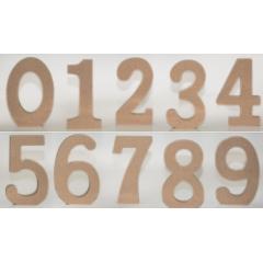 ΝΟΥΜΕΡΑ ΑΠΟ MDF 11cm - ΚΩΔ:519553
