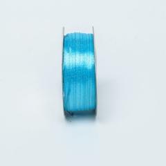 ΚΟΡΔΕΛΑ ΣΑΤΕΝ ΔΙΠΛΗΣ ΟΨΗΣ 3MMX50M - ΚΩΔ:A05324-AVION BLUE-RA