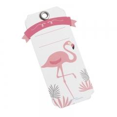Χάρτινη ετικέτα flamingo - ΚΩΔ:81535-PR
