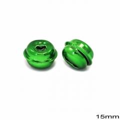 Κουδούνι Σιδερένιο Στρογγυλό 15mm -ΠΡΑΣΙΝΟ- ΚΩΔ:256100072.004-TX