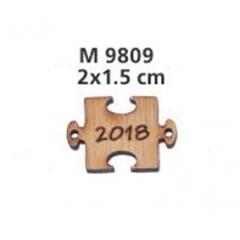 ΓΟΥΡΙΑ 2019 ΞΥΛΙΝΟ ΚΟΜΜΑΤΙ ΠΑΖΛ 1.5 ΕΚΑΤ. - ΚΩΔ:M9809-AD