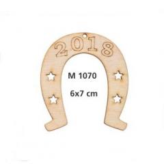 ΓΟΥΡΙΑ 2019 ΞΥΛΙΝΟ ΠΕΤΑΛΟ ΜΕ ΑΣΤΕΡΙΑ - ΧΡΟΝΟΛΟΓΙΑ ΜΙΚΡΟ - ΚΩΔ:M1070-AD