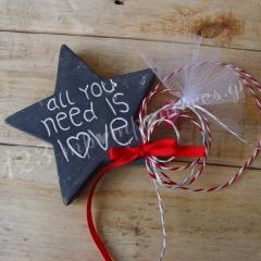 ΜΠΟΜΠΟΝΙΕΡΑ ΠΕΤΡΙΝΟ ΑΣΤΕΡΙ - ALL YOU NEED IS LOVE - ΚΩΔ:MPO-06295