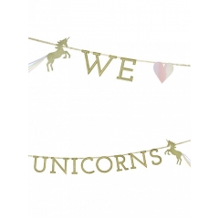 ΓΙΡΛΑΝΤΑ WE LOVE UNICORNS - 3Μ - ΚΩΔ:UNICORN-GARLAND-JP
