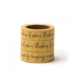 WASHI TAPE THINKING OF YOU -15MMΧ10M - ΚΩΔ:102736-GN