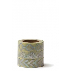 WASHI TAPE ΣΕΤ 3 ΤΕΜΑΧΙΩΝ -15MMΧ10M - ΚΩΔ:102749-GN