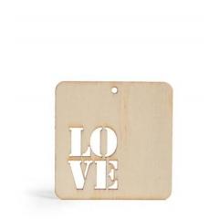 ΞΥΛΙΝΟ ΤΑΜΠΕΛΑΚΙ LOVE 4,4Χ3,4ΕΚ - ΚΩΔ:103844-GN
