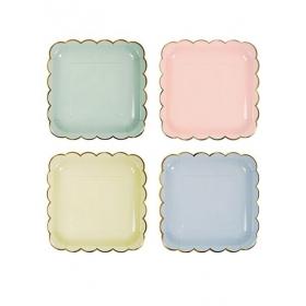 Pastel Πιάτο Φαγητού 8τμχ - ΚΩΔ:140905-JP