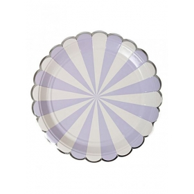 Lavender Πιάτο Φαγητού 8τμχ - ΚΩΔ:143254-JP
