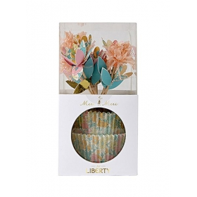 Liberty Poppy & Daisy Cupcake Kit - ΚΩΔ:45-2262-JP