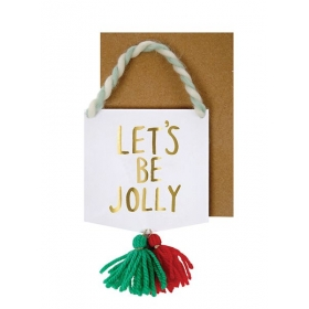 Ευχετήρια Κάρτα Lets Be Jolly - ΚΩΔ:42-0064-JP