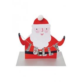 Ευχετήρια Κάρτα Jolly Santa - ΚΩΔ:42-0066-JP