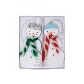 Χιονάνθρωπος Gift Tags - ΚΩΔ:65-0185-JP
