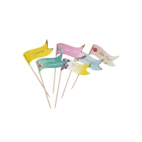 Truly Scrumptious Toothpick Flags - ΚΩΔ:TS3-CANAPE-JP