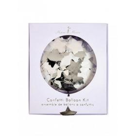 Balloon Kit Λευκό-Ασημί - ΚΩΔ:148582-JP
