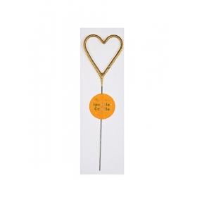 Σπινθηροβόλο Κερί Καρδιά - ΚΩΔ:156160-JP