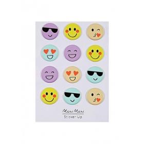 Αυτοκόλλητα Φουσκωτά Emoji - ΚΩΔ:160192-JP